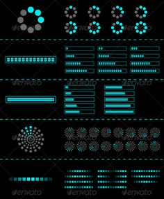 Buy Vector preloader by Designer_things on GraphicRiver. Nice to use as part of your design. line and round preloaders collection (in zip. App Ui Design, Interface Design, Web Design, Graphic Design, Loading Icon, Photoshop Shapes, Iphone Homescreen Wallpaper, 404 Pages, Presentation Layout