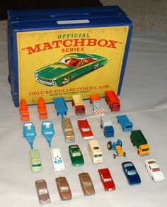 Matchbox Collector's Case. My childhood best friend and neighbor had one.