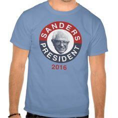 Bernie Sanders For President 2016 T-T Shirt, Hoodie Sweatshirt