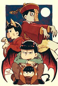 Osomatsu-san Osomatsu #Anime「♡」