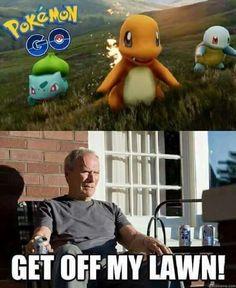 Pokemon Go meets Clint Eastwood