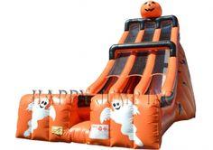 28' Double Lane Slide(Halloween)