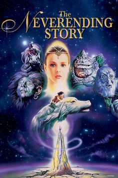 The Neverending Story.  A testament to literary escapism, with a not-so-literary story.  Atreyu!