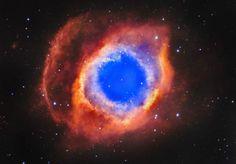 Helix Nebula, Space