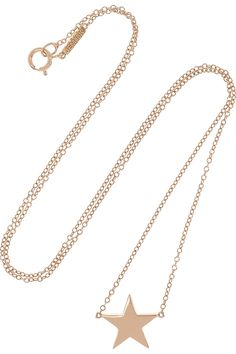 JENNIFER MEYER 18-karat rose gold star necklace 950 USD