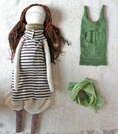 sally sun handmade rag doll waldorf inspired 20ish by humbletoys