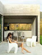 Rotomoulding chair design by @serraydelarocha