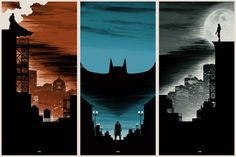 The Dark Knight Trilogy by Matt Ferguson