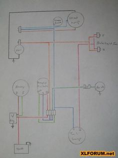 teaching cartoons geek culture how electricity works and math ironhead simplified wiring diagram for 1972 kick the sportster and buell motorcycle forum