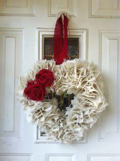 Shabby Chic Valentine's Weath