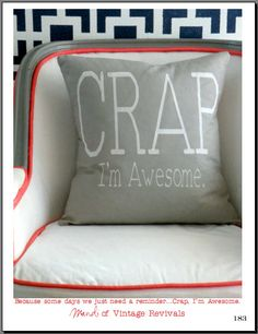 CRAP I'm Awesome!