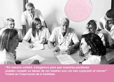 Trabajamos para que nuestras pacientes puedan cumplir su deseo de ser madres una vez superado en cáncer. Unidad de Preservación de la Fertilidad