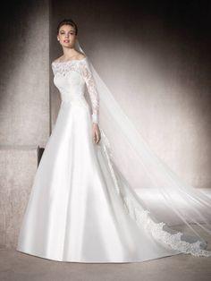Vestido de noiva corte em a Morena