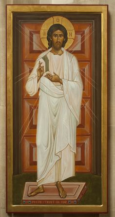 God is Love. (All Merciful Christ of Roath Icon by Aidan Hart)
