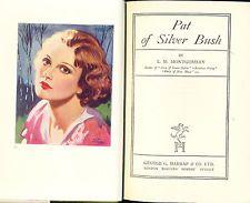 Pat of Silver Bush by L.M. Montgomery, George G. Harrap, hardcover, 1940