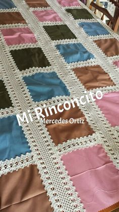 Fácil de hacer #patchwork #Quilts #patchworkamaquina  @mirinconcito19 #zalamealareal