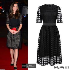 Kate Middleton Style Inspiration. Shop this repliKate of the Temperley 'Templeton' dress