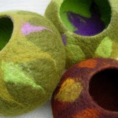 FELTING matters... : Experimenting with TEXTURES...