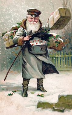 Santa with Packages