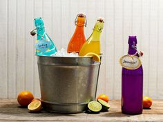 Beautiful Multicolor Bottles.