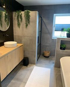 Interior by Michelle Bad Inspiration, Bathroom Inspiration, Bathroom Goals, Small Bathroom, Bathroom Interior, Interior Design Kitchen, Bad Styling, Dream Bathrooms, Bathroom Styling