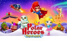 Pelissä lapset kouluttavat luomiaan superhahmoja. Oululainen yritys, pelit 4-8 vuotiaille