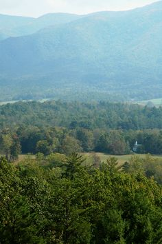 View overlooking Cades Cove