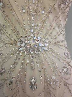 Detail of my dress! I am thinking of basing everything for the wedding on this...invites, place cards, etc.