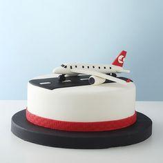 Flugzeug Kuchen Flugzeug Torte In 2019 Cake Birthday Und Fondant