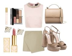 """""""Untitled #47"""" by juliettepep ❤ liked on Polyvore featuring Ted Baker, Carven, Miu Miu, Givenchy, Bobbi Brown Cosmetics, Marc Jacobs, Sole Society and Tory Burch"""