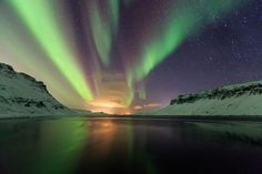 View out of the fjord Photo by Jon Hilmarsson -- National Geographic Your Shot
