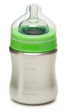 Kleen Kanteen baby bottles! Baby Chaney #2 may need (yes, need) a couple of these.