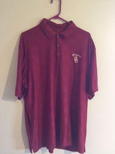 Men's Polo Golf Shirt SC TROJANS by NIKE Southern California XXL Free Shipping #Nike #SCTrojans