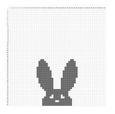 *Instant Download Pattern* This listing is for a PDF crochet pattern only (US terms) and not the finished item. **PLEASE NOTE** This pattern includes the graph and color instructions to make the bunny blanket, but does not include instructions for how to do tapestry crochet. Supplies