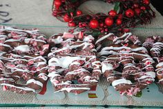 Chocolate Covered Peppermint Pretzels