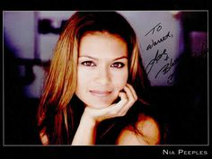 "Virenia Gwendolyn ""Nia"" Peeples (born December 10, 1961) is an American R and dance music singer and actress. She is perhaps best known for her role as Nicole Chapman on Fame. She is also known for her role as Karen Taylor Winters on The Young and the Restless and as Sydney Cooke on Walker, Texas Ranger."