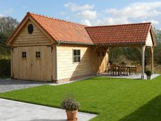 34 years of expertise in making custom wooden outbuildings, carports . - 34 years of expertise in making custom wooden outbuildings, carports, terraces and gates. Wooden Boat Plans, Wood Plans, Contemporary Garden Rooms, Wooden Model Boats, Shed With Porch, Kids Bedroom Storage, Oak Framed Buildings, Garden Workshops, Outdoor Pavilion