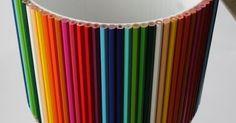 1#  Aplique lápis de cor num abat jour. Ideia original para quarto de criança!        2#  Faça uma moldura com livros antigos! Chic!      ...