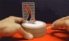 "novelty-gift-ideas: ""Straight Pole + Curved Hole Illusion """