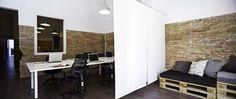 Proyecto integral de #interiorismo para un #Coworking situado #Poblenou #Barcelona @021Espai