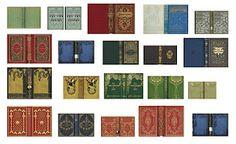 Miniature Printables - Books Covers.