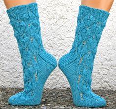 Socken; Candlepower, freies Ravelry-Muster (top-cuff-down)