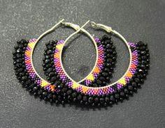 New hoop earrings designs New hoop earrings designs Beaded Earrings Patterns, Jewelry Patterns, Bead Earrings, Bridal Earrings, Seed Bead Jewelry, Bead Jewellery, Beaded Jewelry, Handmade Jewelry, Horse Jewelry