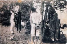 seven lynched at once