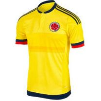 Colombia national team 2015 Home Yellow Soccer Jersey [A371]