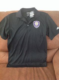 adidas Purémotion orlando city mls soccer black Solid polo shirt NWT size S mens | Sports Mem, Cards & Fan Shop, Fan Apparel & Souvenirs, Soccer-MLS | eBay!