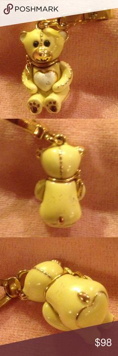JUICY COUTURE  Teddy Bear Charm JUICY COUTURE  Rare. 2008 Teddy Bear Charm. Good condition. No box. Recently sold on eBay as shown in the fourth photo. Reasonable offers are welcome. Juicy Couture Jewelry