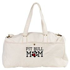 Pit Bull Mom Duffel Bag for
