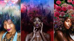 Pierre Jean-Louis' Black Girl Magic series brings the magic to fore. His unapologetic breathtaking artwork is promoted on his Instagram page. #beauty #blackgirlmagic #hair #pierrejeanlouis