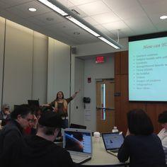 @LesleyLambert talks about #pinterest at #pcwm!